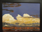 Wyoming Skies.  Available at The Artist Coop, Laurens SC