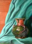 Green Vase, Sold